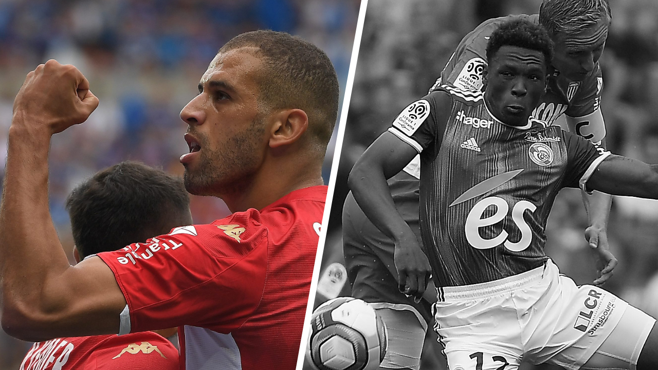 Football - Ligue 1 - Tops/Flops Strasbourg-Monaco : Slimani frappe fort, Mothiba aux abonnés absents