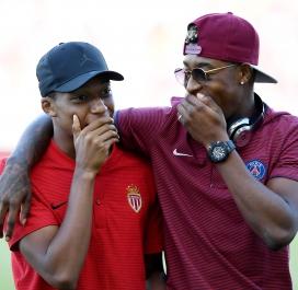 Kylian Mbappé et Presnel Kimpembe