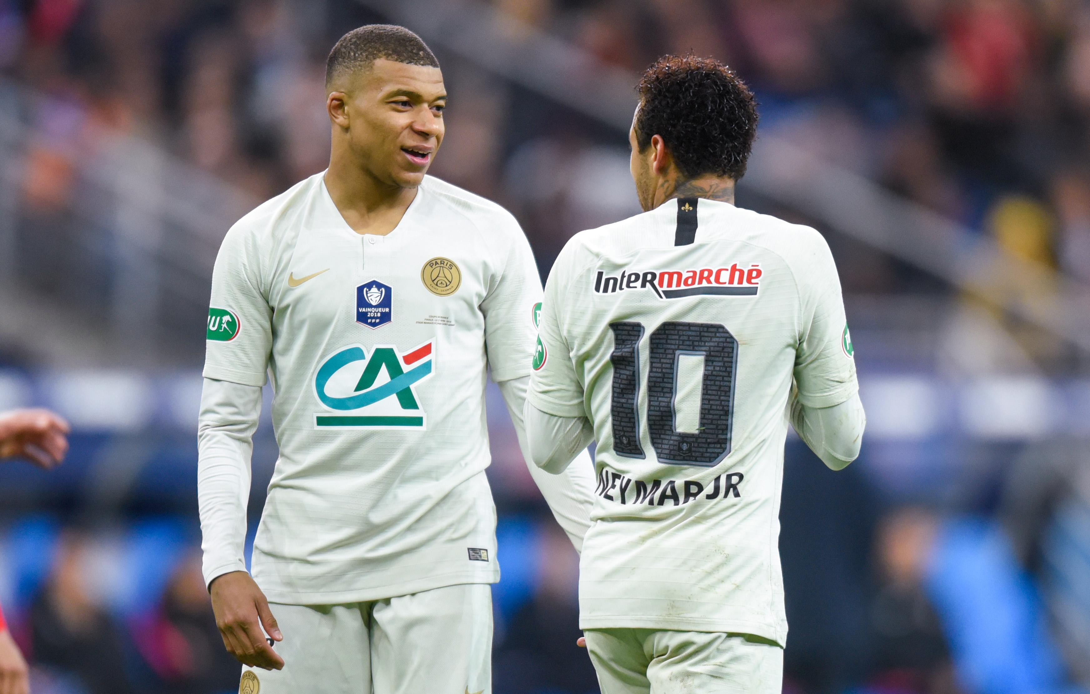 Football - Ligue 1 - Trophées UNFP: Mbappé va-t-il succéder à Neymar ?