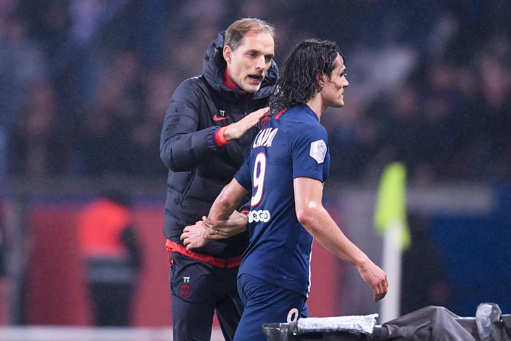 Football - Ligue 1 - Tuchel sur la C1 sans Cavani, Meunier et Kouassi : «Clairement plus difficile, pas impossible»
