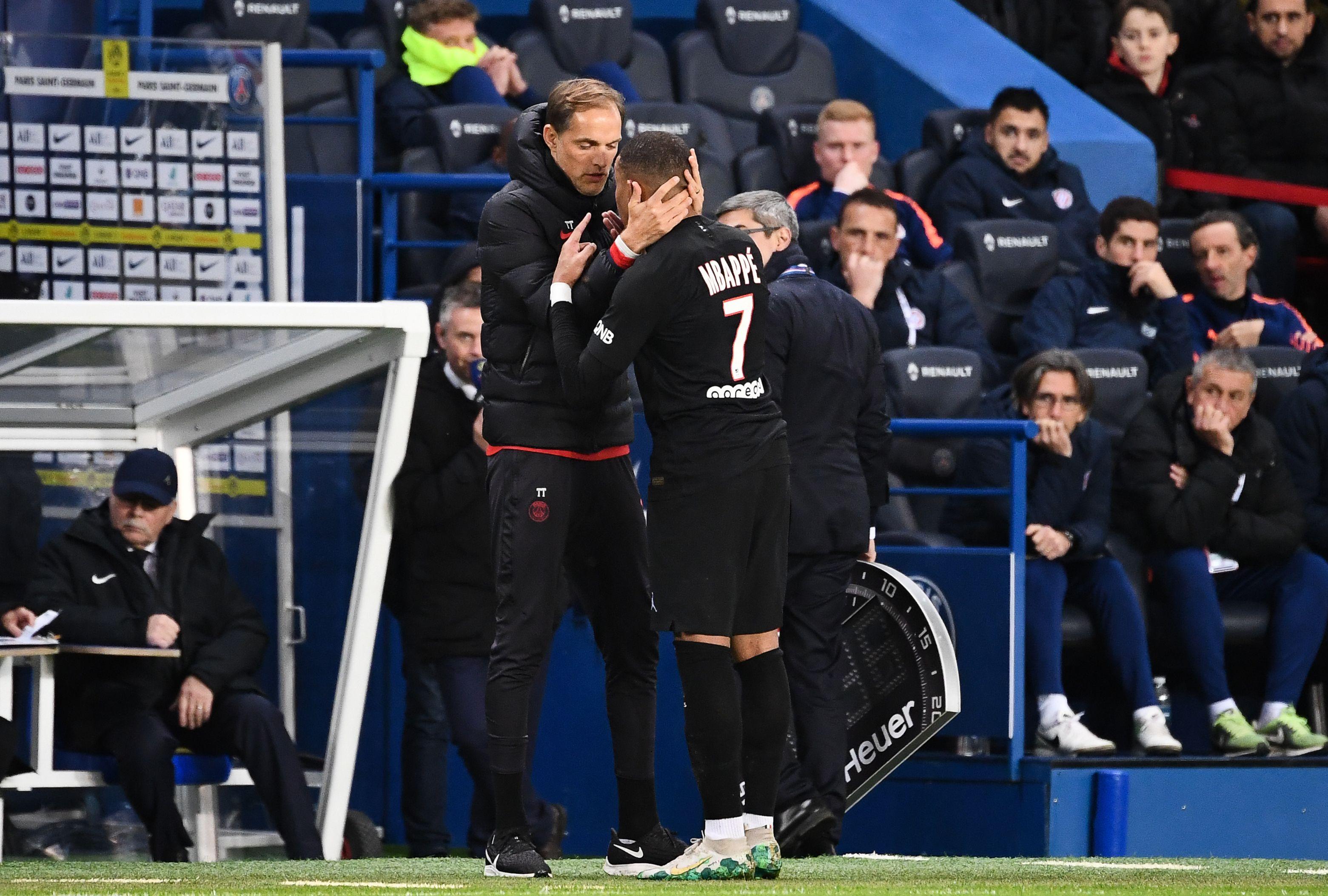 Football - Ligue 1 - Tuchel recadre vivement Mbappé: «On fait du foot, pas du tennis»