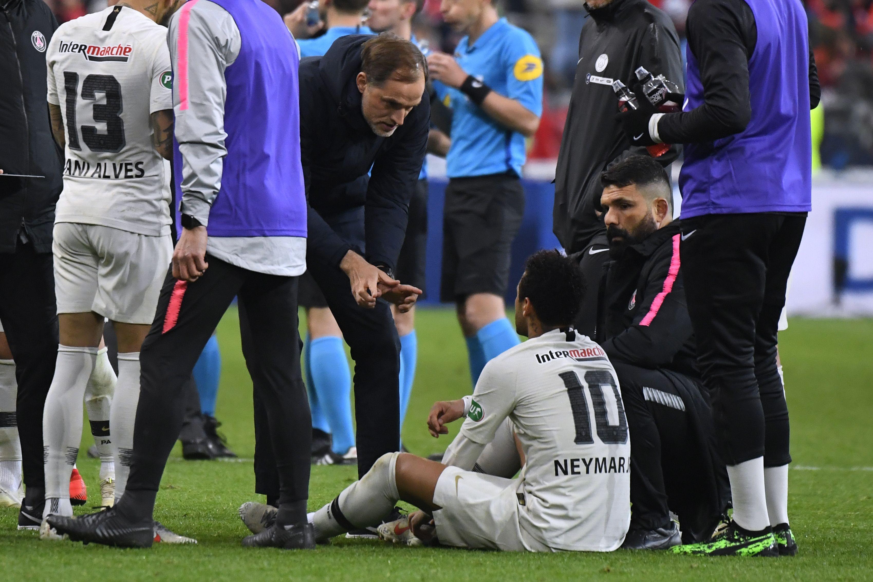 Football - Ligue 1 - Tuchel sur l'altercation de Neymar après Rennes : «Je n'aime pas du tout»
