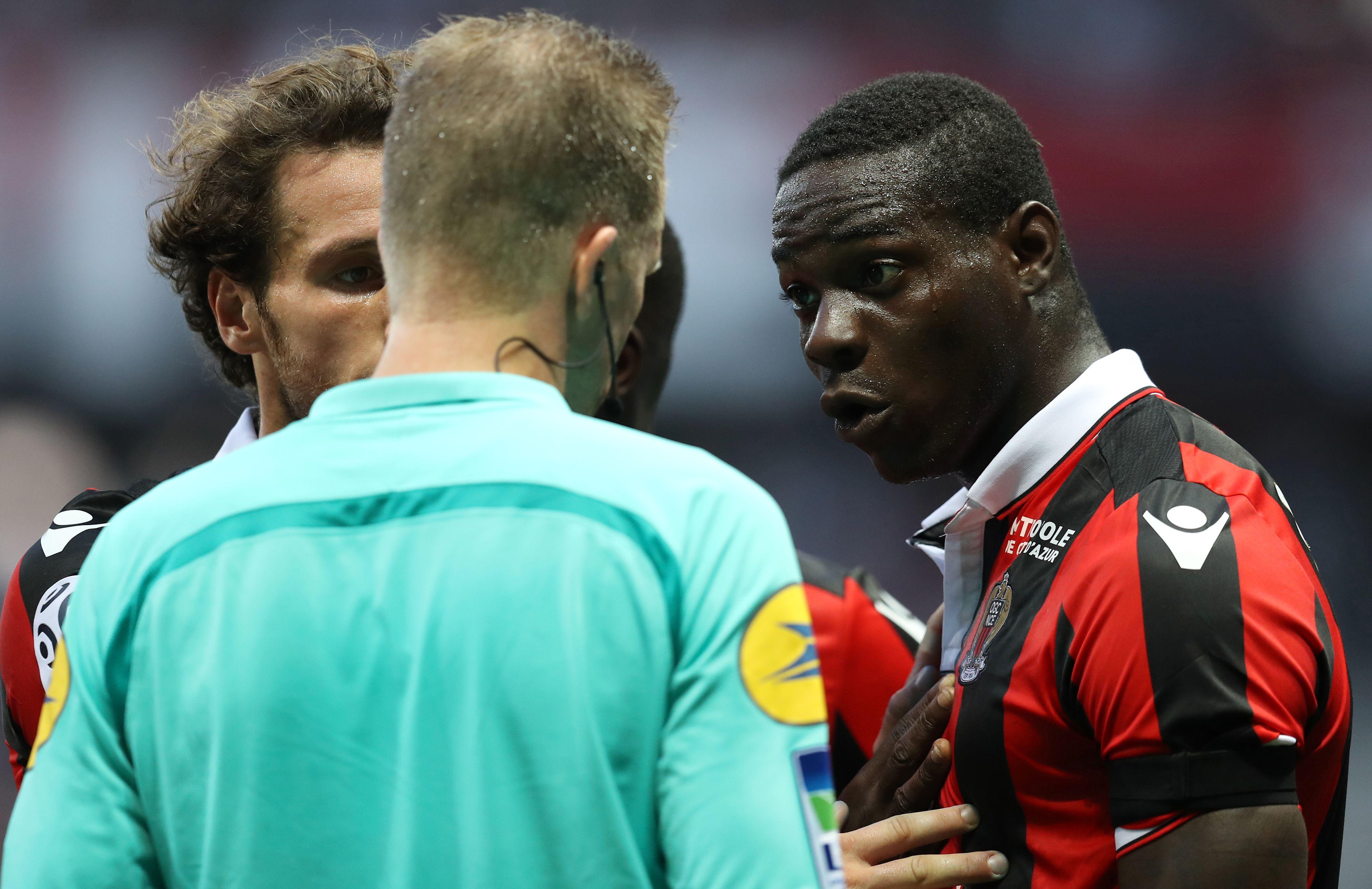 Football - Ligue 1 - Un carton rouge au goût amer pour Balotelli