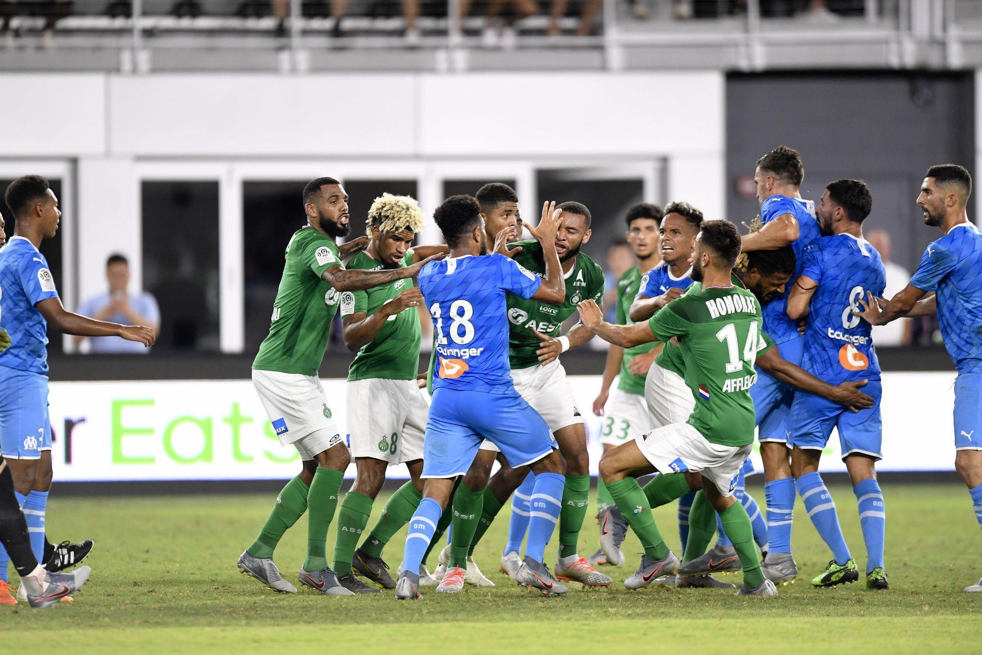 Football - Ligue 1 - Une bagarre générale pour finir les EA Ligue 1 Games
