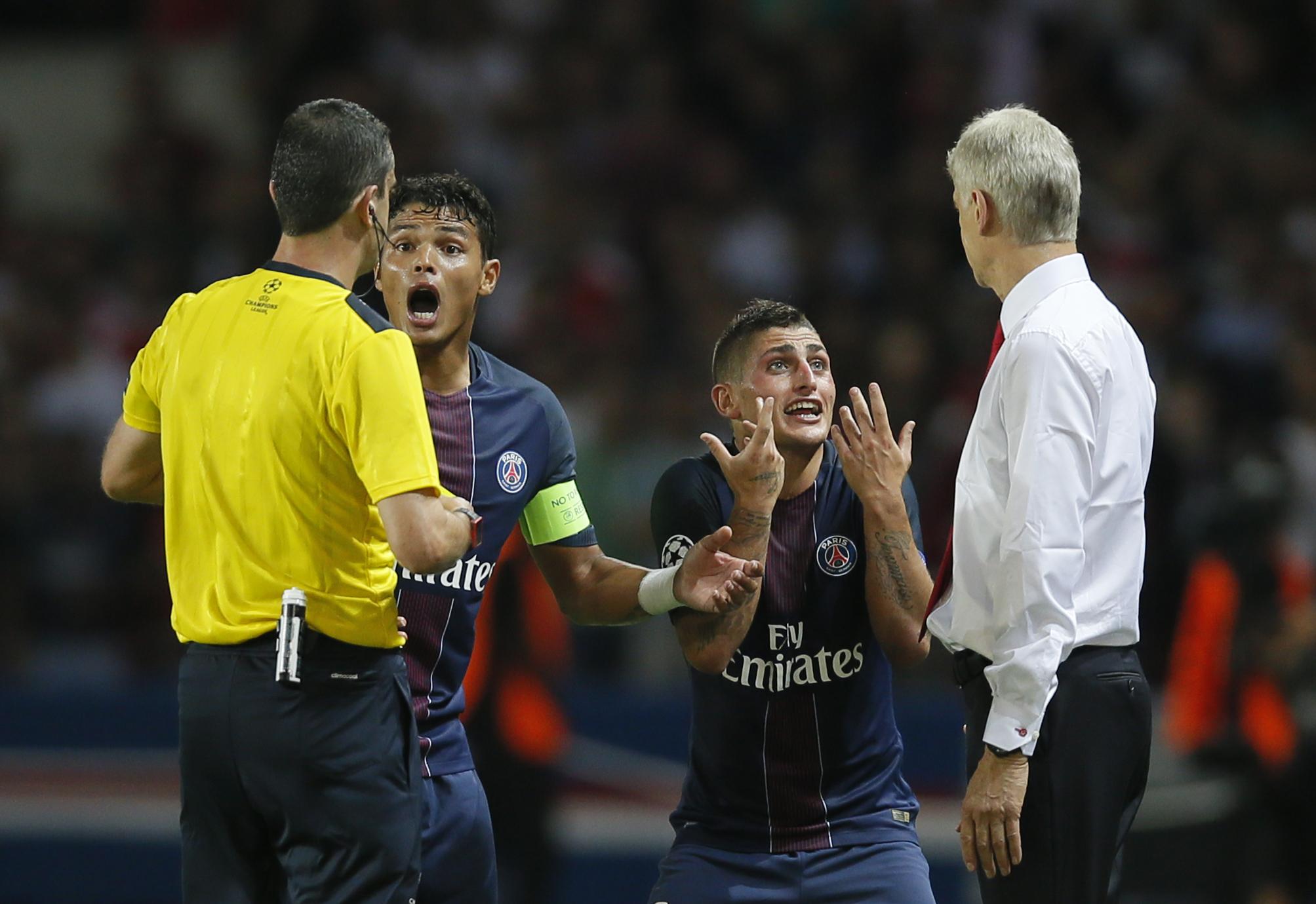 Football - Ligue 1 - Verratti répond à Marius Trésor : «Je suis vicieux… pendant 90 minutes»