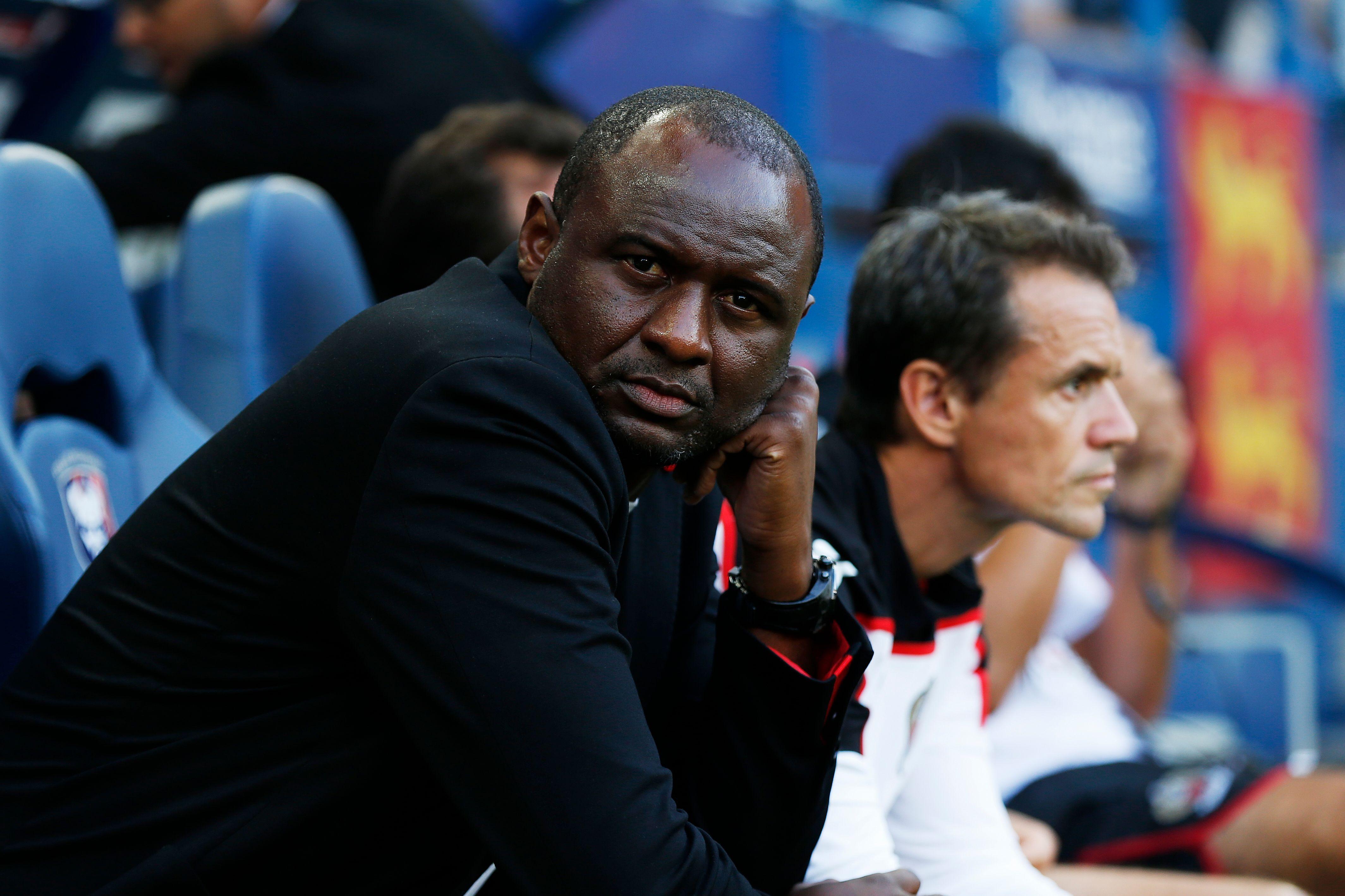 Football - Ligue 1 - Vieira après le nul de Nice à Caen : «Ce point est mérité»