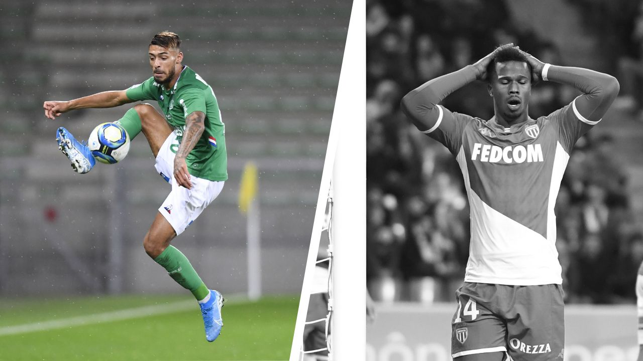 Football - Ligue 1 - Tops/flops Saint-Etienne - Monaco : Bouanga le détonateur, Baldé était ailleurs