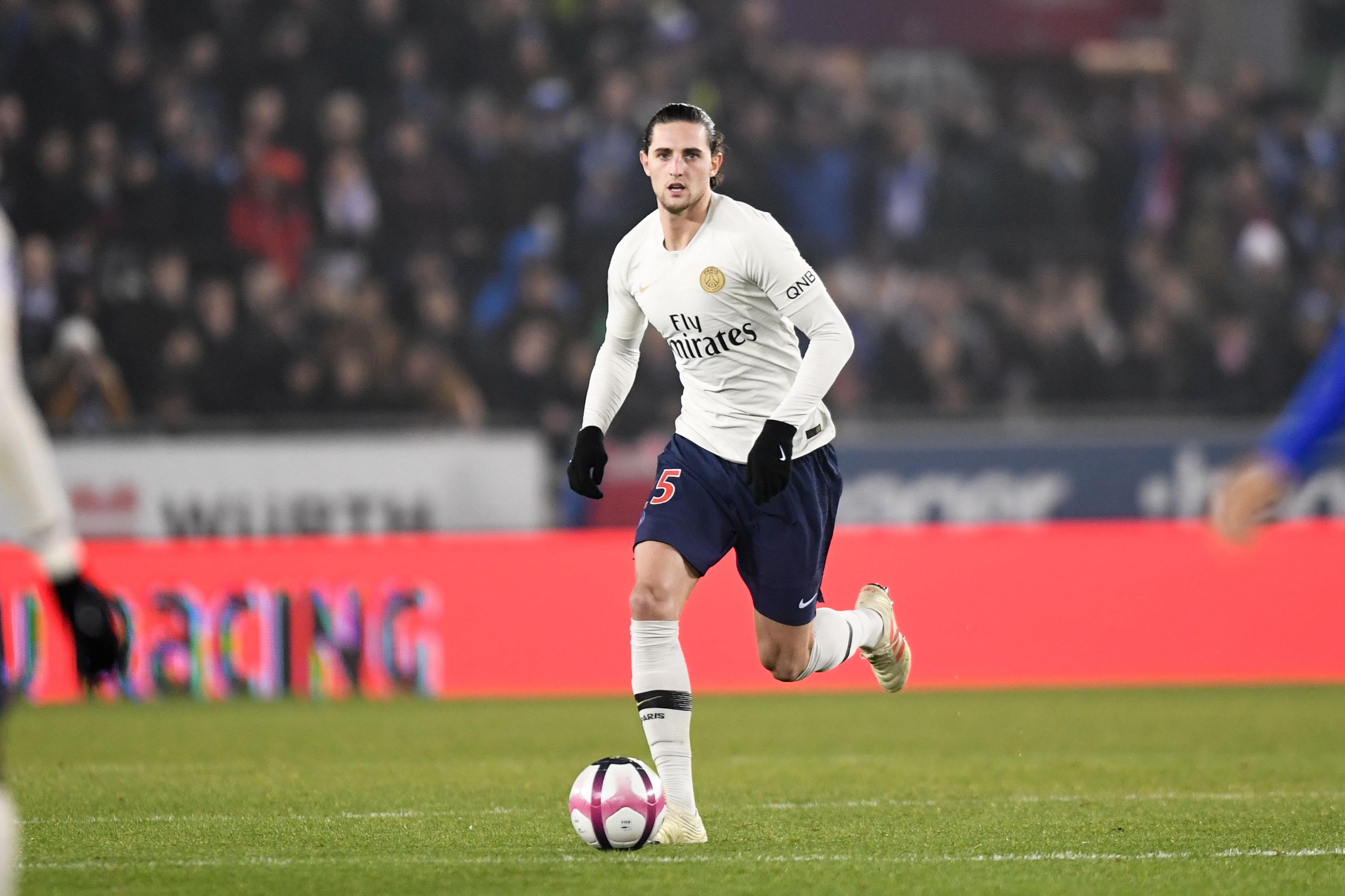 Football - Ligue 1 - Une victoire pour Adrien Rabiot face au PSG