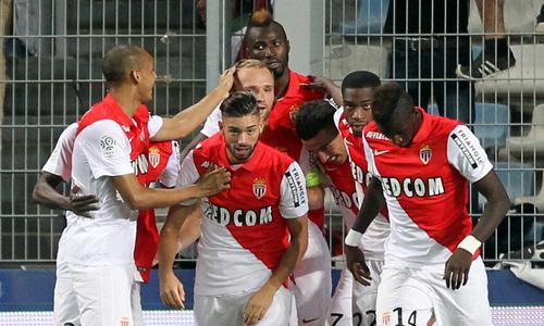 Bastia 1-3 Monaco : Monaco poursuit sa remontée