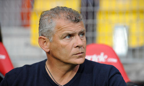 Patrice Garande est heureux de voir Caen réussir pour l'heure son retour en Ligue 1