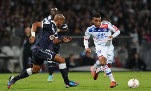 Bordeaux braque Lyon - Lyon - Homes Clubs - Ligue 1 - Football -