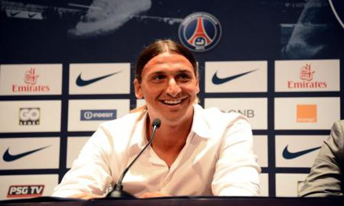 Ibrahimovic : «Je ne connais pas la Ligue 1 mais la Ligue 1 me connait» - Paris SG - Homes Clubs - Ligue 1 - Football -
