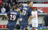 Zlatan Ibrahimovic PSG-Nancy