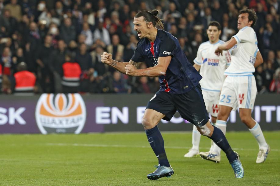 Football - Ligue 1 - Un Ibrahimovic historique offre le Classique au PSG