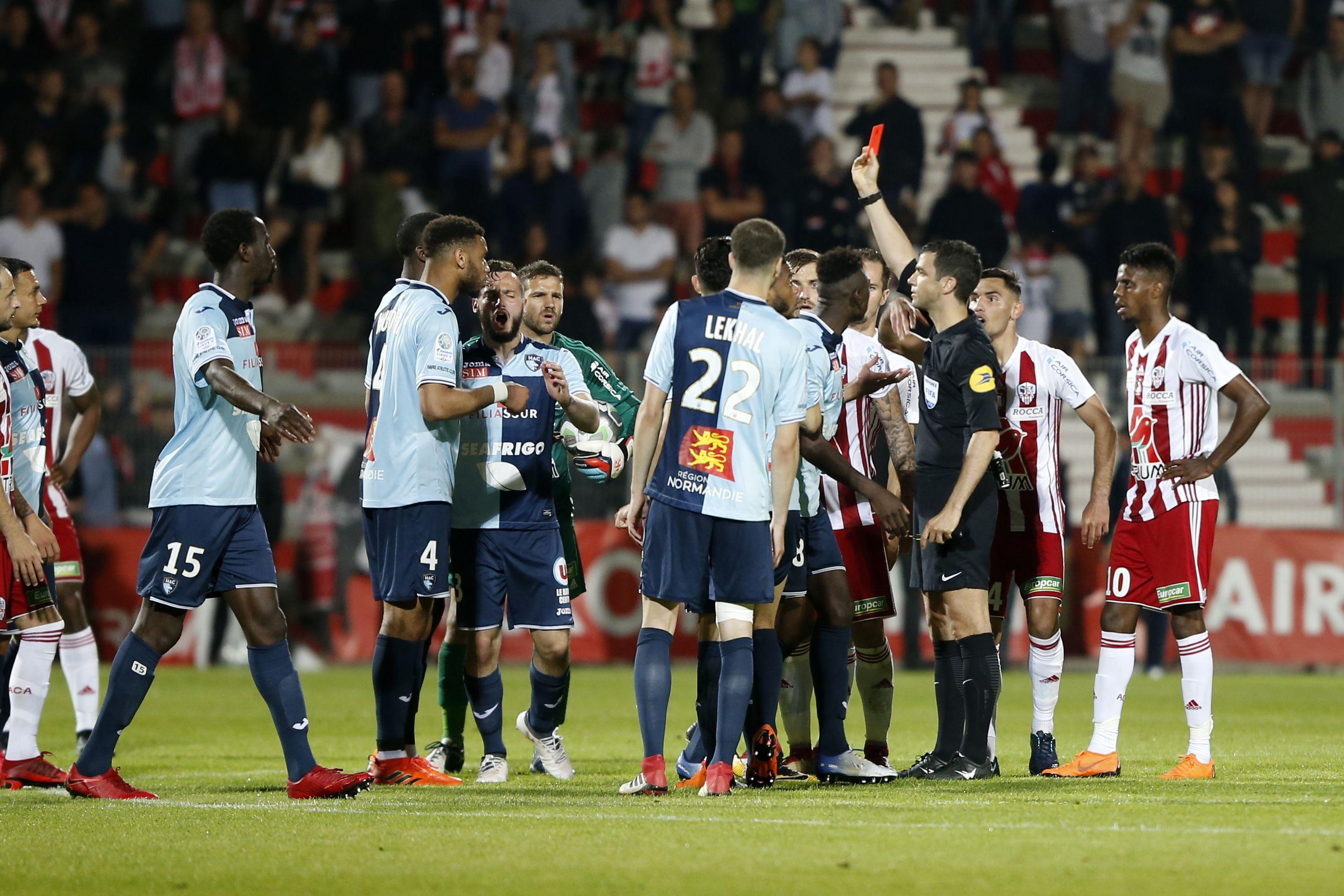 Football - Ligue 2 - Ajaccio-Le Havre : la députée du Havre dénonce des violences en tribune
