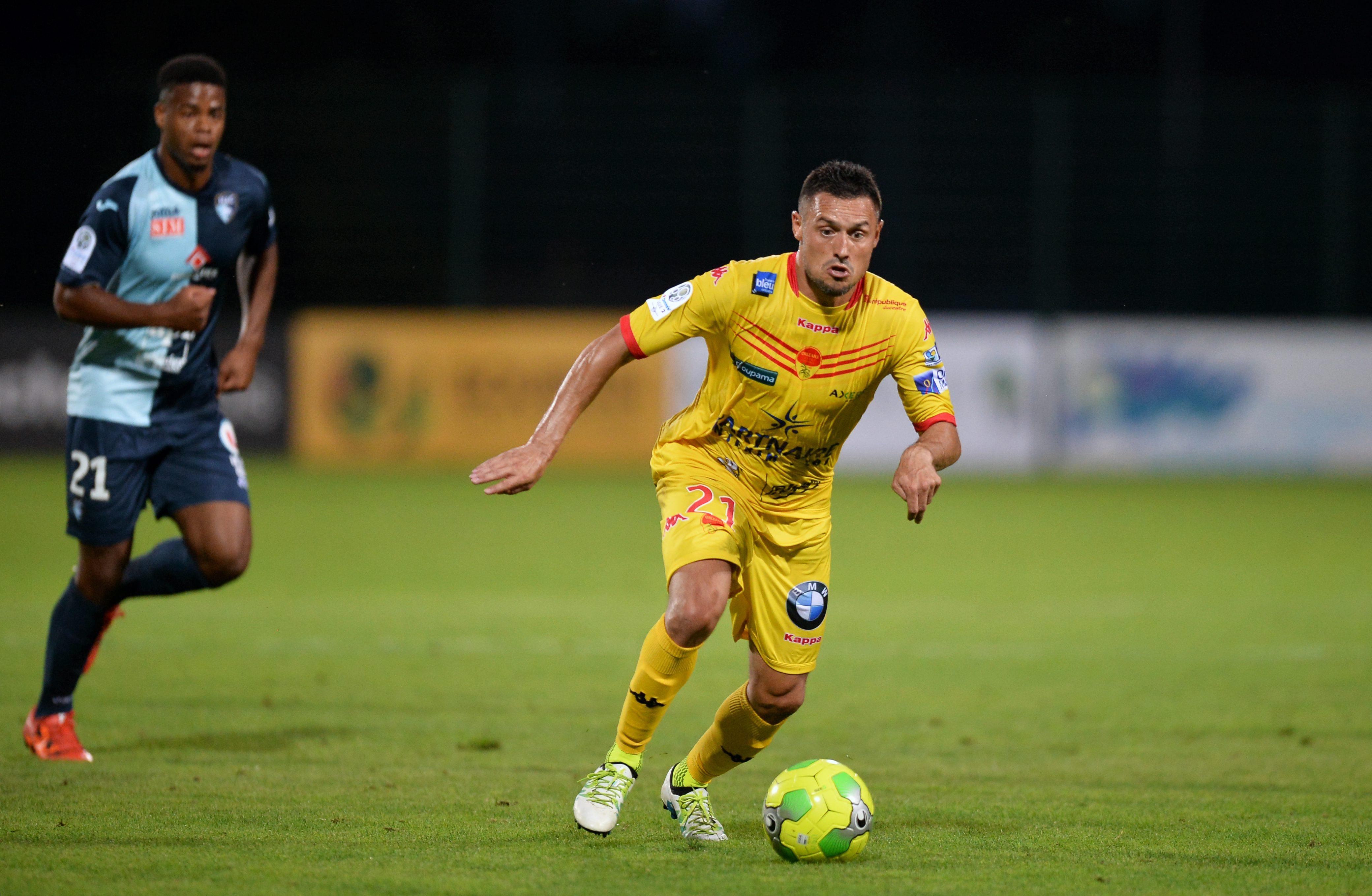 Football - Ligue 2 - Ligue 2: Orléans-Gazélec Ajaccio en direct