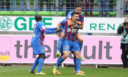 Mathieu Duhamel et Fayçal Fajr ont brillé contre le CA Bastia