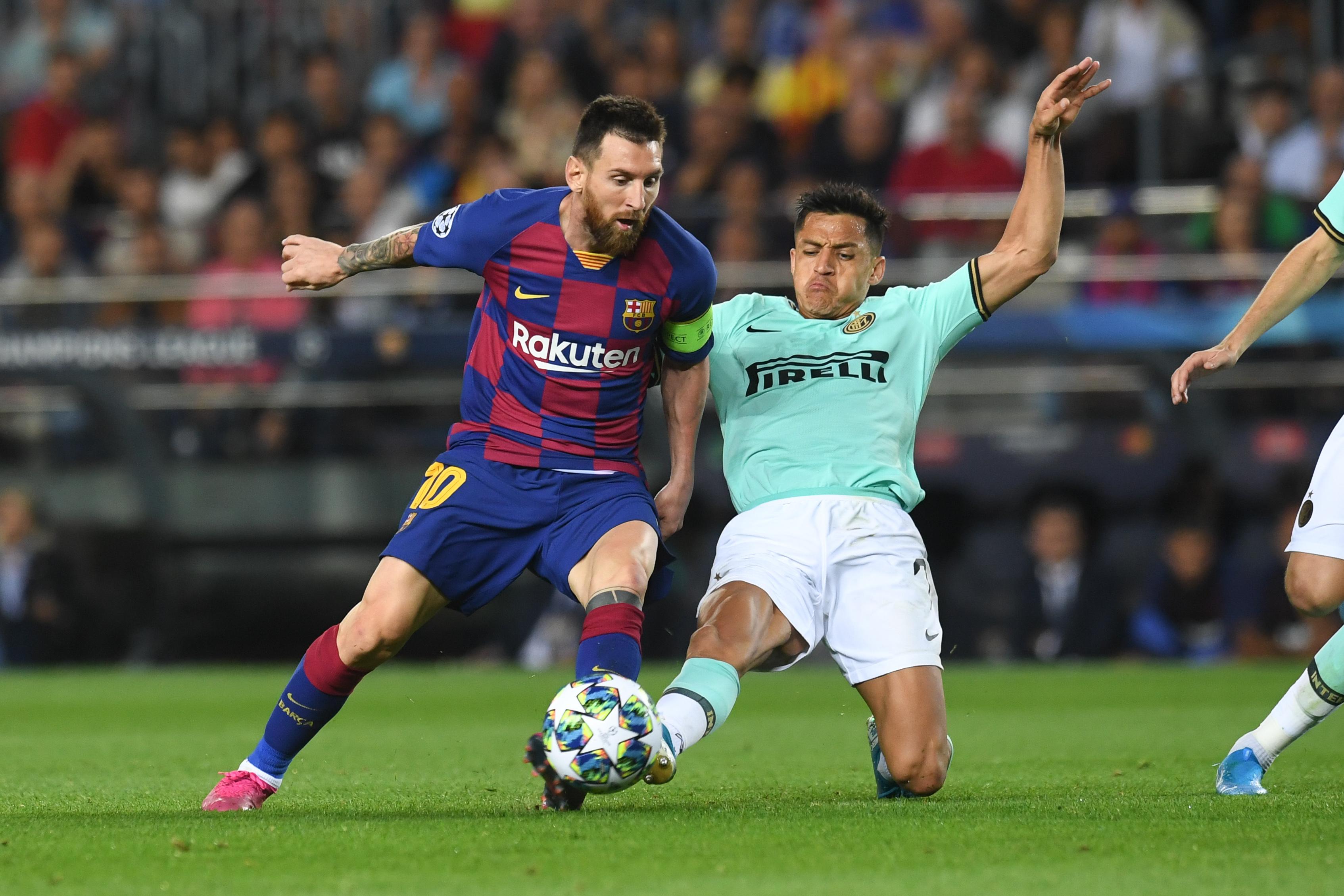 Football - Ligue des champions - 700 matches au Barça pour Messi : le top 5 de ses buts en Ligue des champions (vidéo)