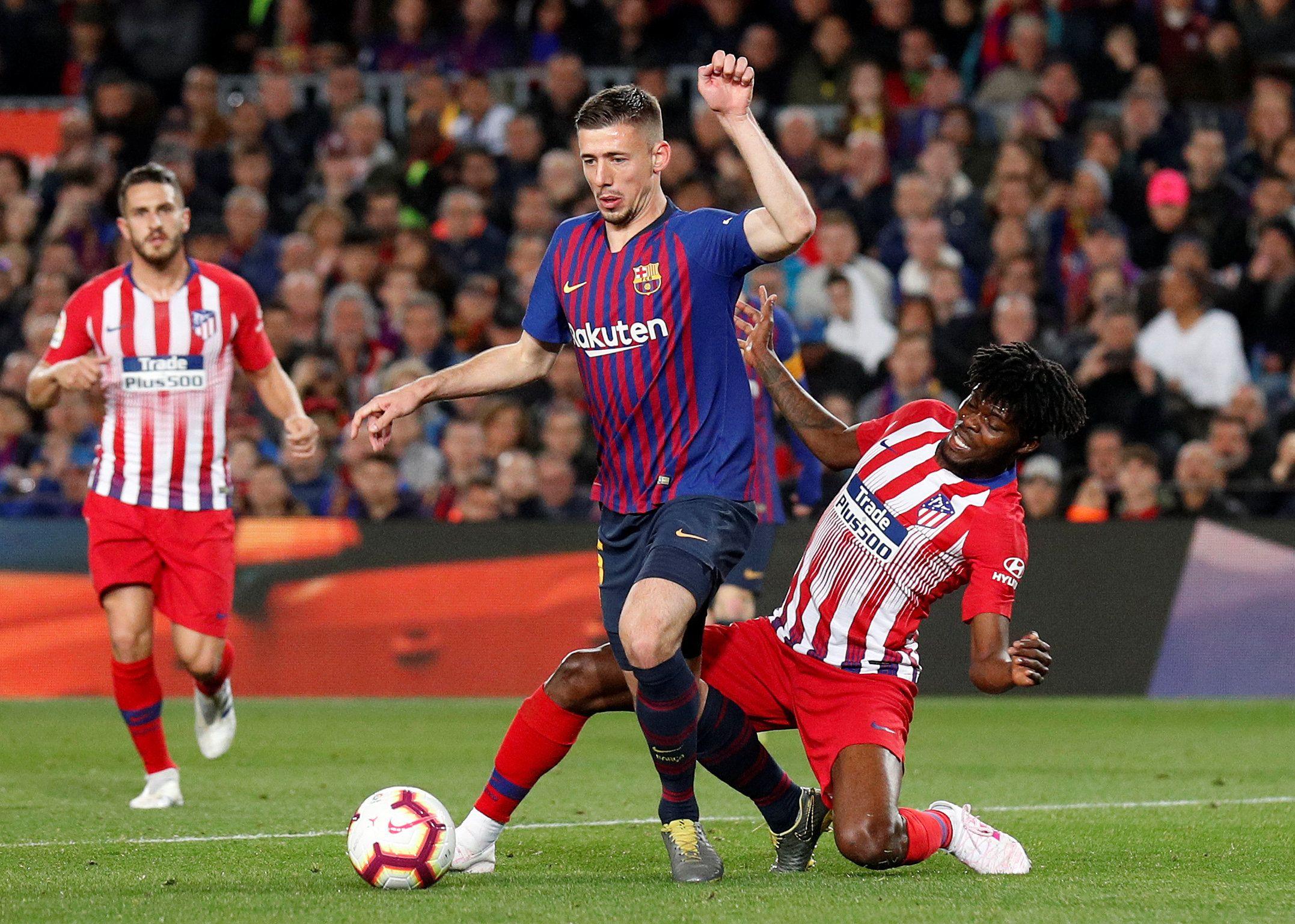 Football - Ligue des champions - Barça : Lenglet chamboule tout et met Umtiti sur le banc