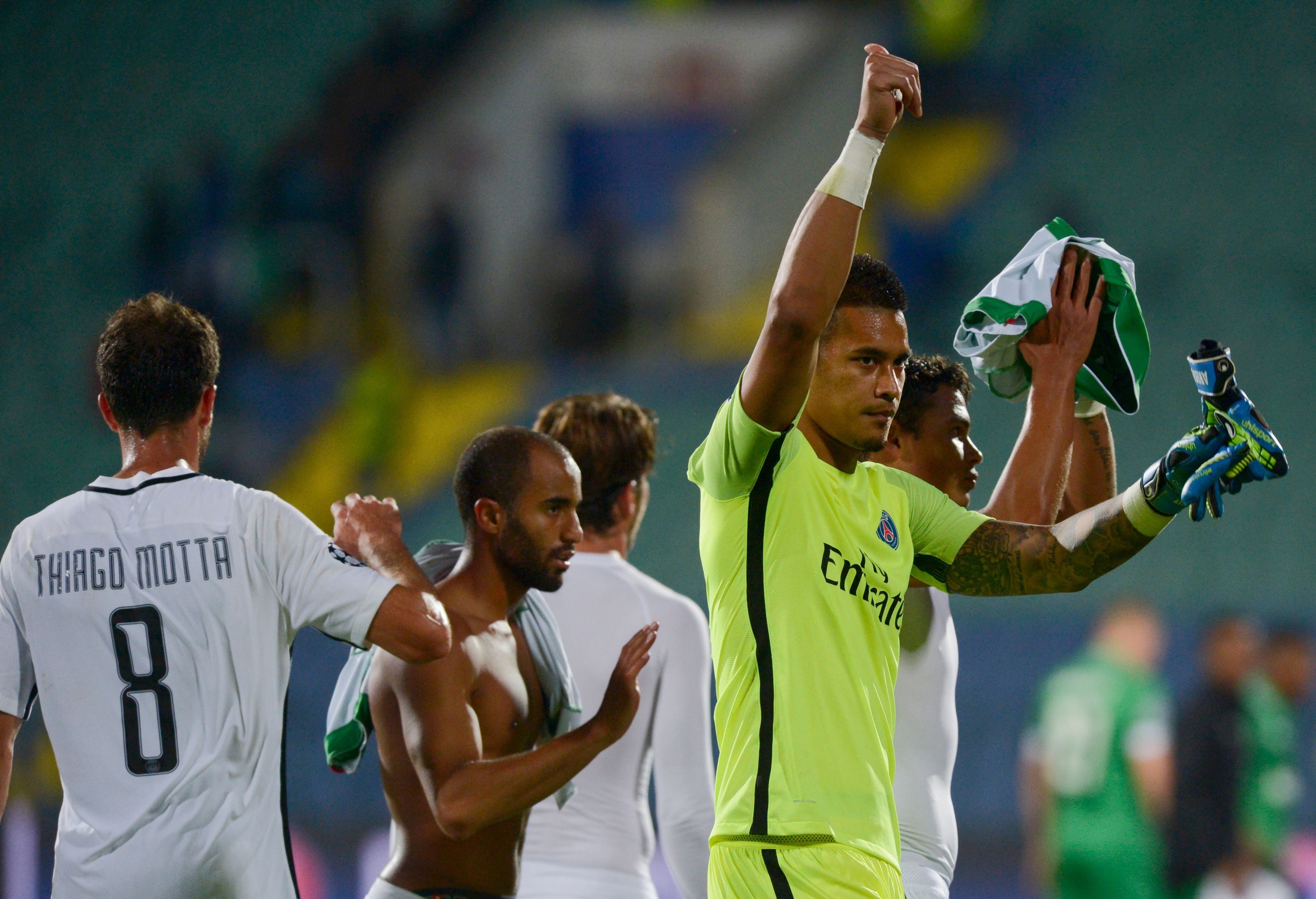 Football - Ligue des champions - BRP HD - Cavani et Aréola, l'alpha et l'oméga du nouveau PSG