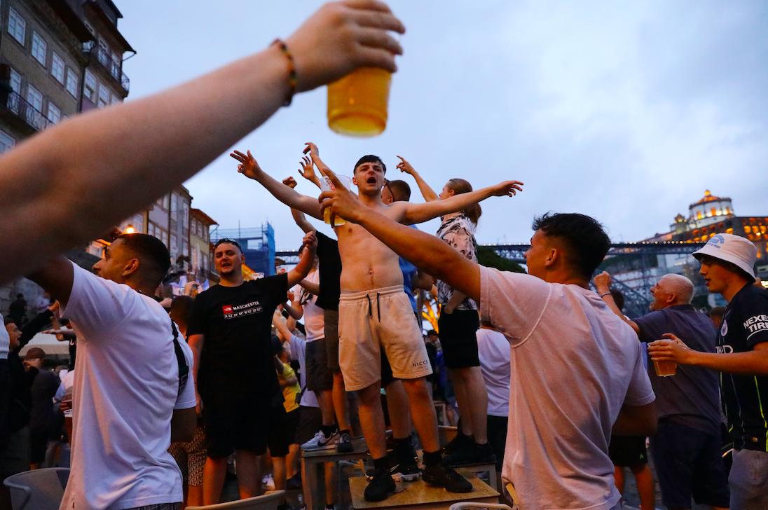 C1: avant la finale, l'impatience au summum dans les fan-zones de Porto - Ligue des champions