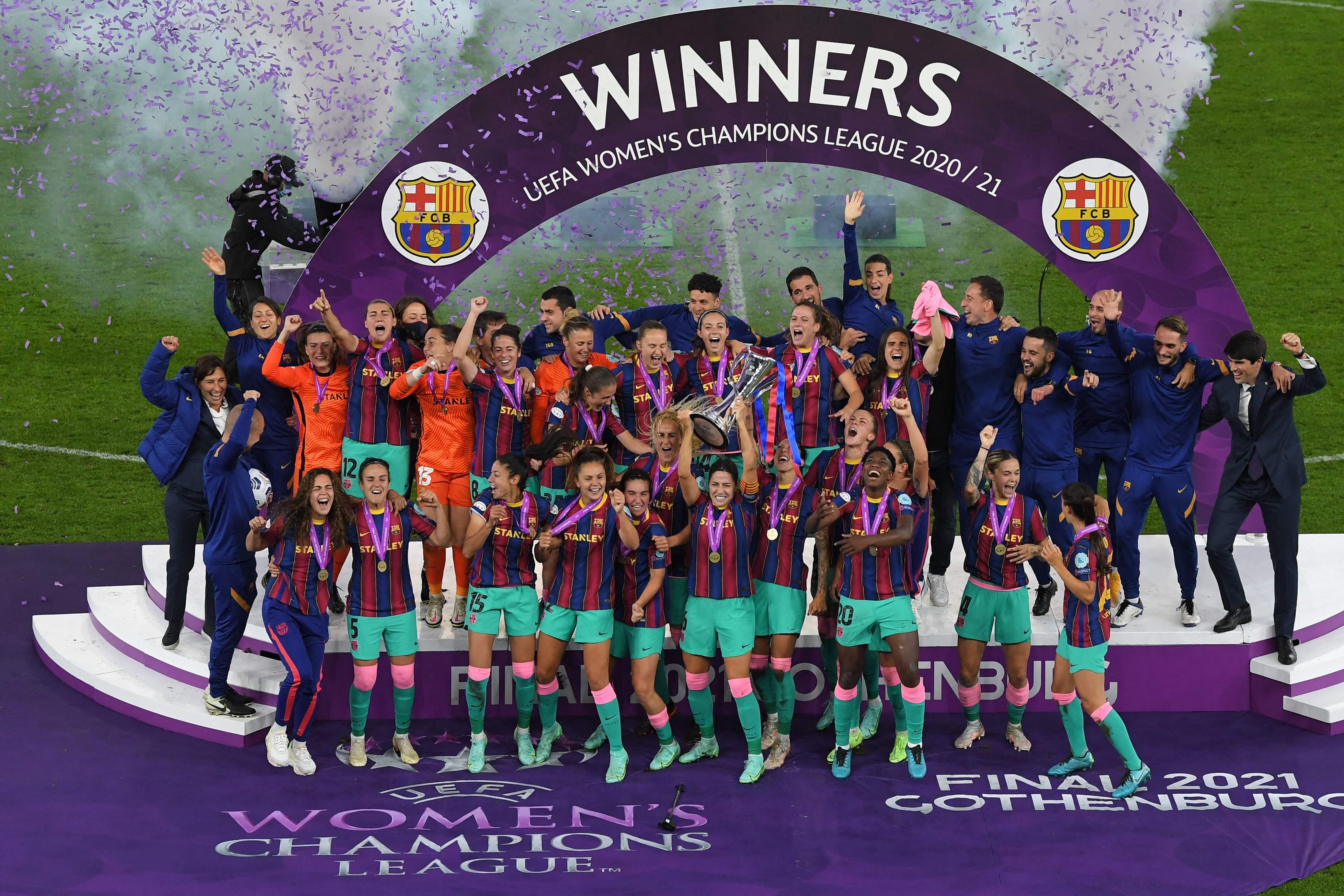 Football - Ligue des champions - C1 féminine : le Barça foudroie Chelsea et monte sur le toit de l'Europe