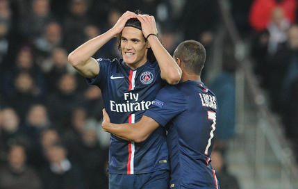 Edinson Cavani Paris SG