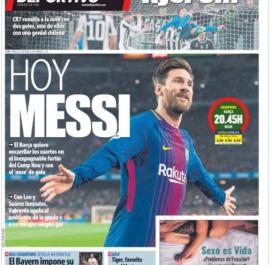 «Hier Ronaldo», «Aujourd'hui Messi»