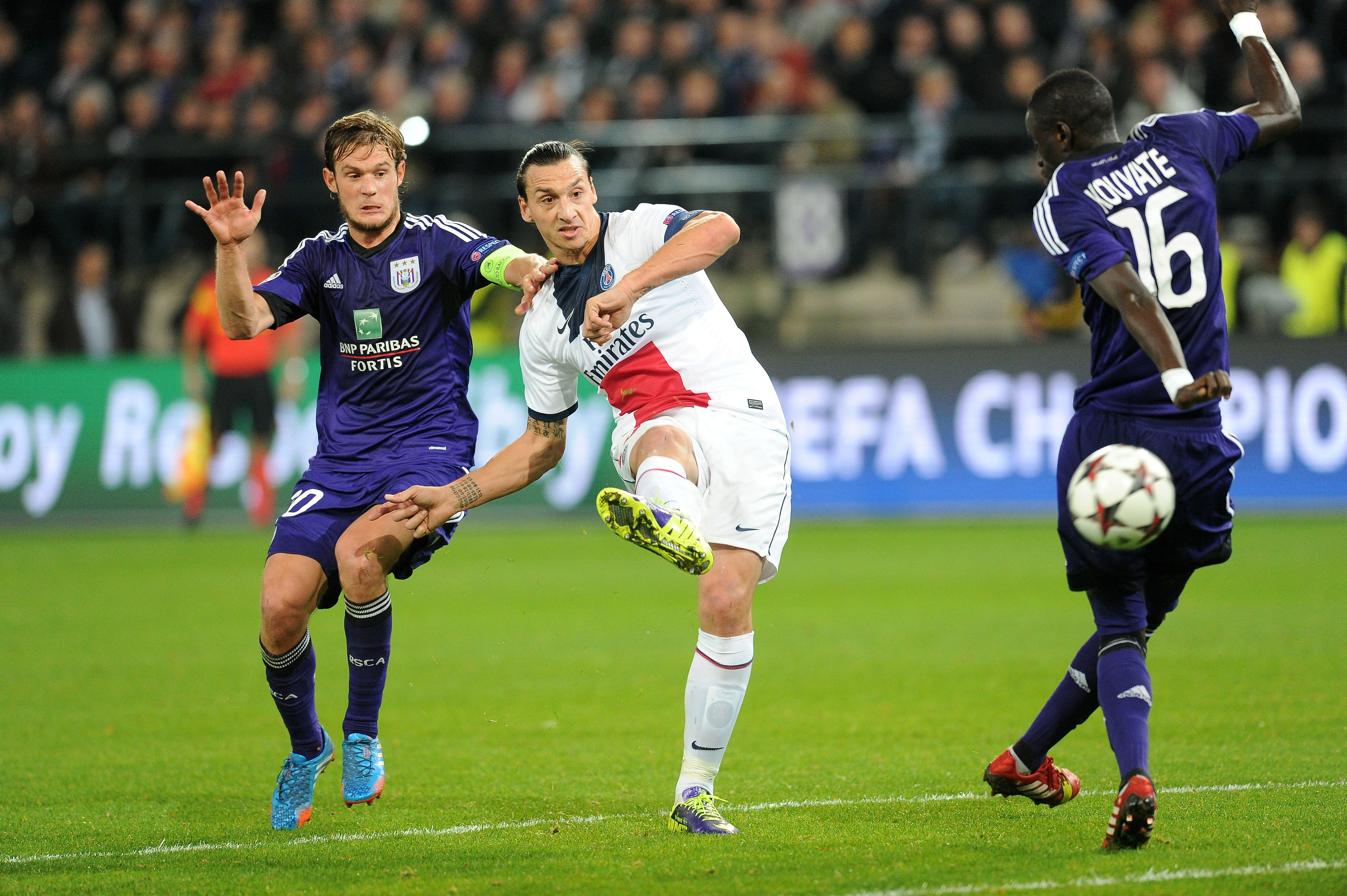 Football - Ligue des champions - De Waterschei à Anderlecht, les histoires belges du PSG (vidéo)