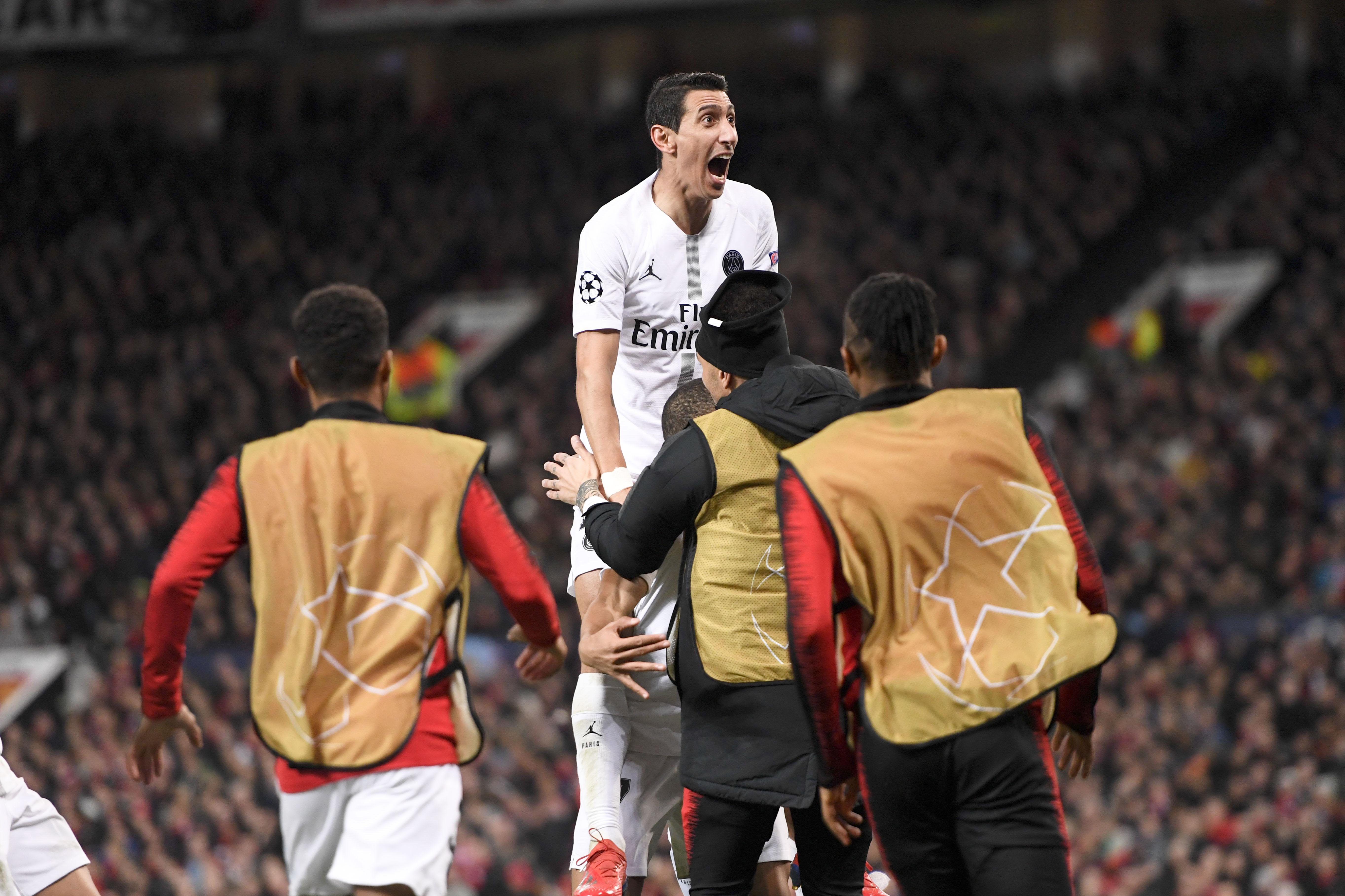 Football - Ligue des champions - Et si Di Maria prenait encore sa revanche sur Manchester ?