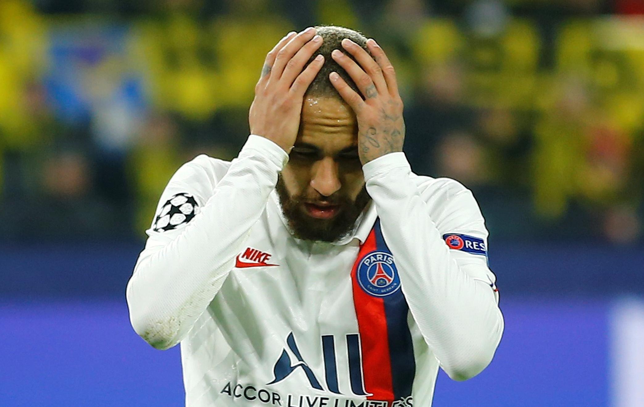 Football - Ligue des champions - Dortmund-PSG : On attendait Neymar... et on l'attend encore