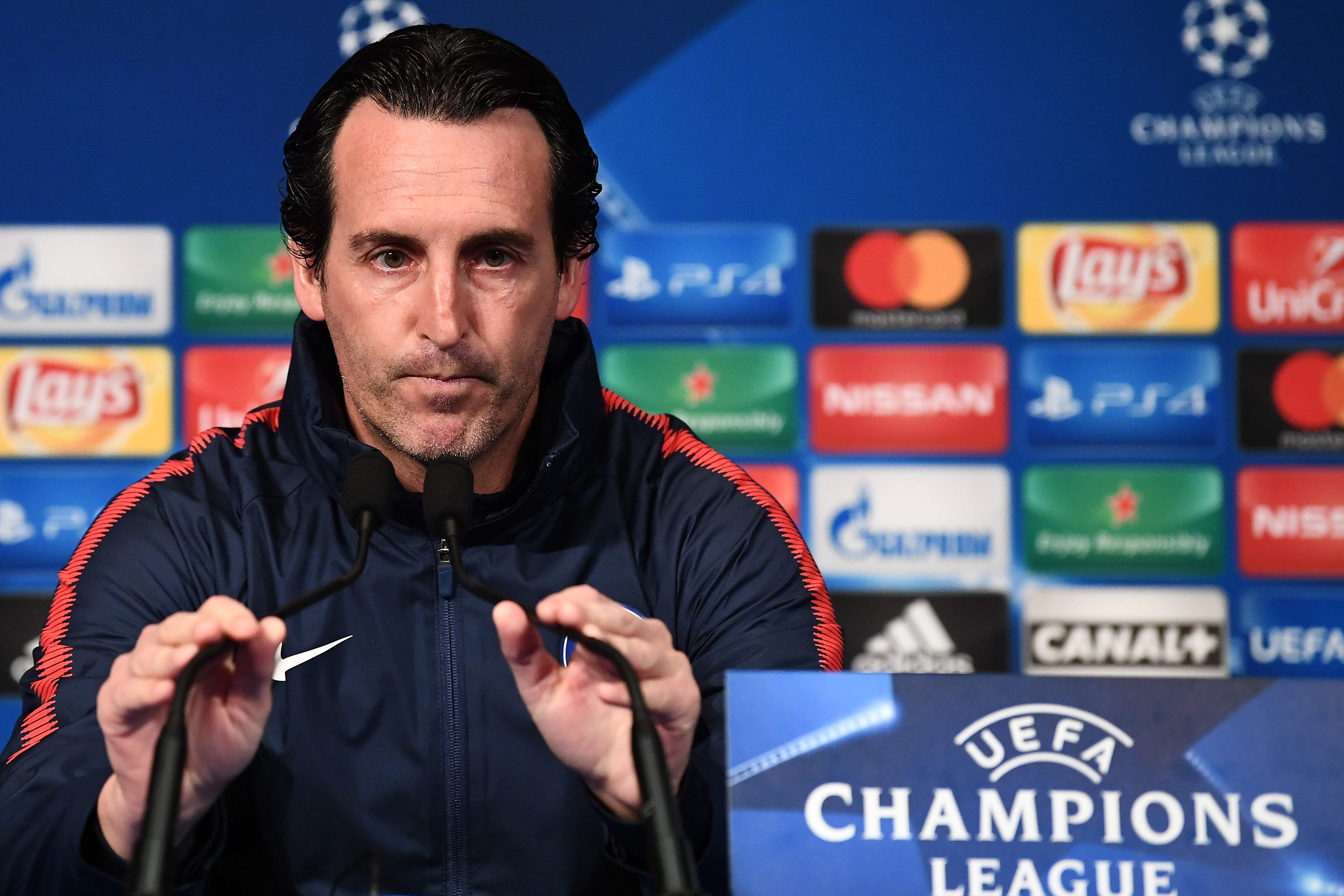 Football - Ligue des champions - Emery : «Important de gagner pour rester premier»