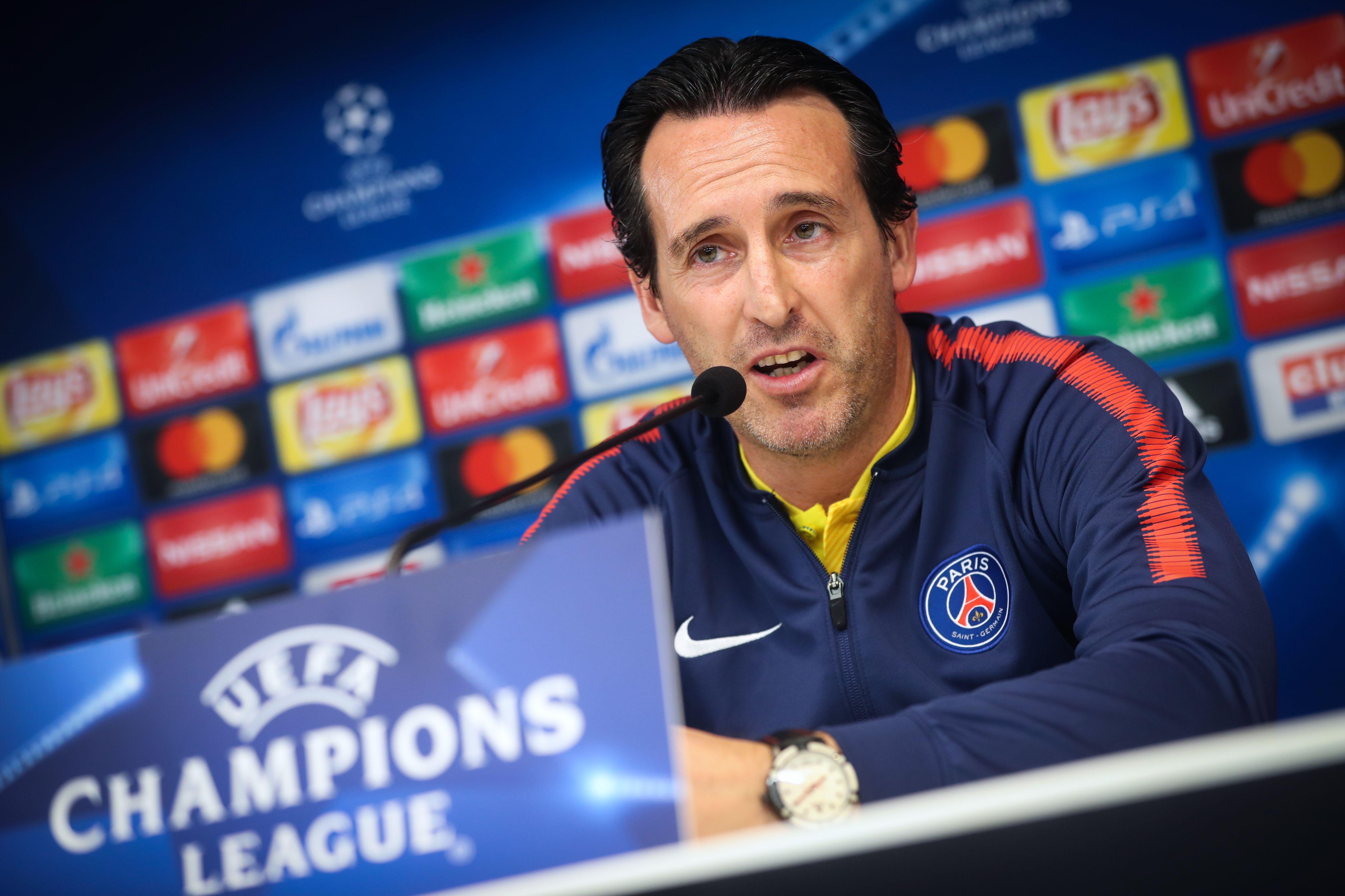 Football - Ligue des champions - Emery : «Le Classique face à l'OM, on y pensera après»