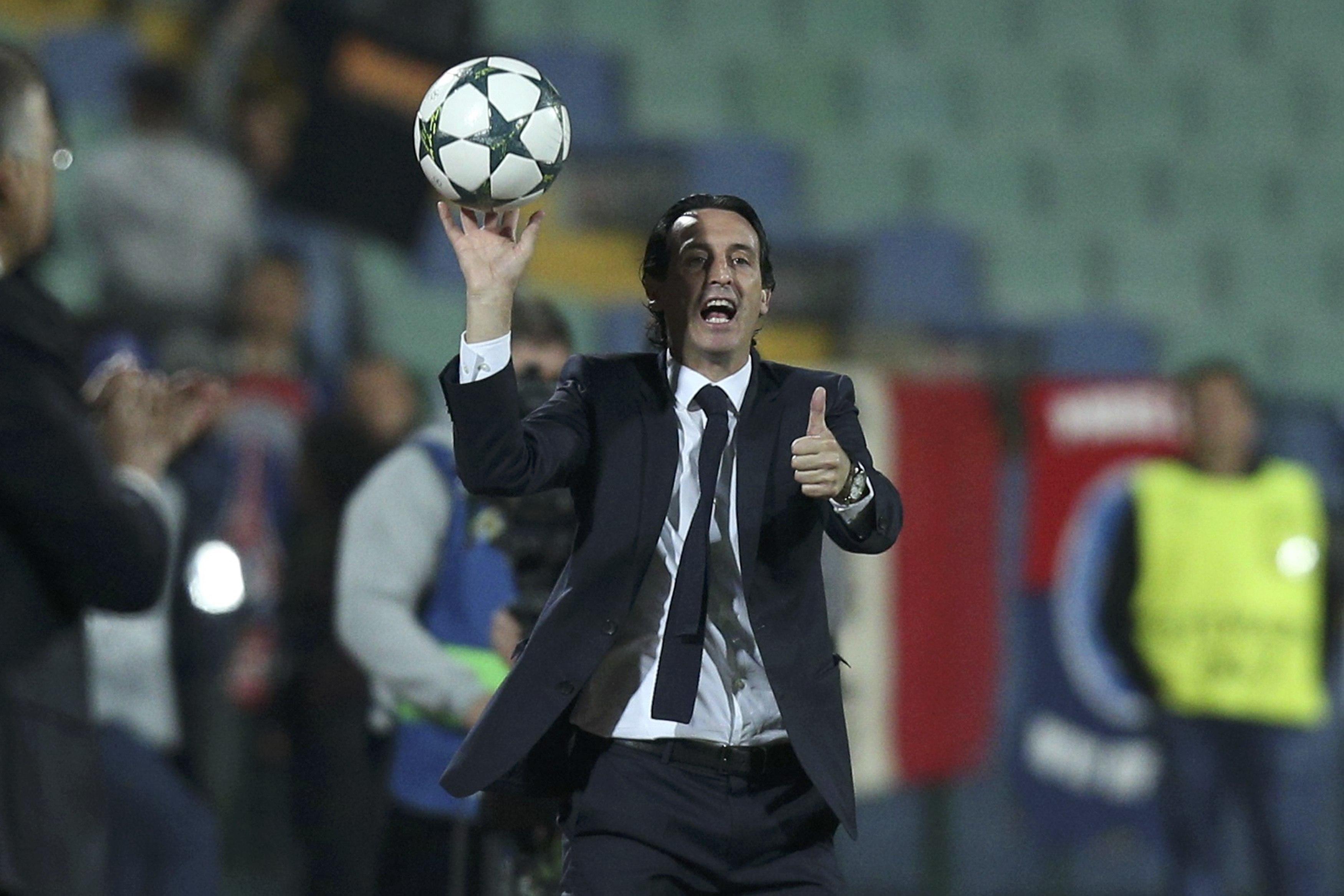 Football - Ligue des champions - Emery : «Le plus important c'est la confiance»