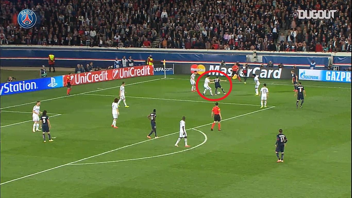 Football - Ligue des champions - En attendant le foot : l'exploit de Javier Pastore contre Chelsea en 2014
