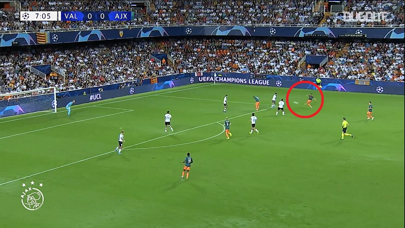 Football - Ligue des champions - En attendant le foot : la frappe enroulée pleine lucarne de Ziyech contre Valence