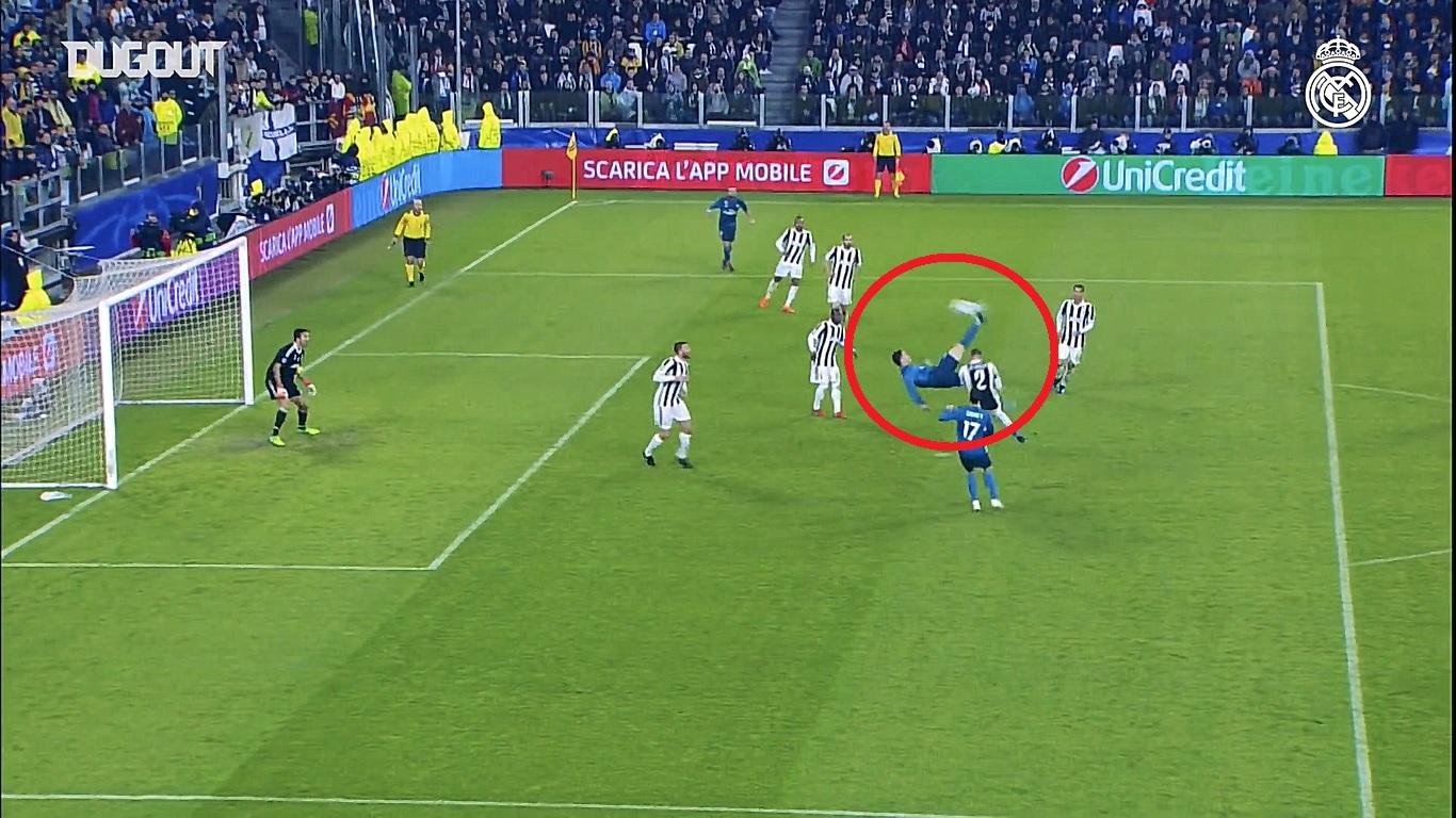 Football - Ligue des champions - En attendant le foot : le retourné de Ronaldo contre la Juventus