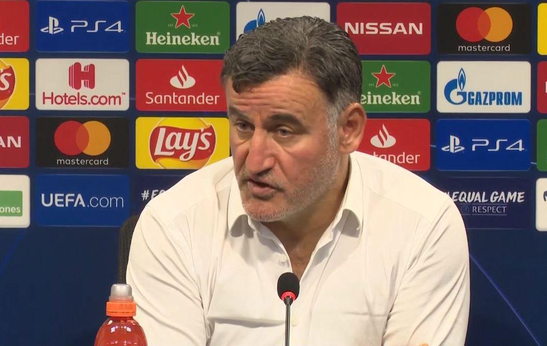 Football - Ligue des champions - Galtier après la lourde défaite (4-1) à Valence : «Lille a manqué d'expérience»