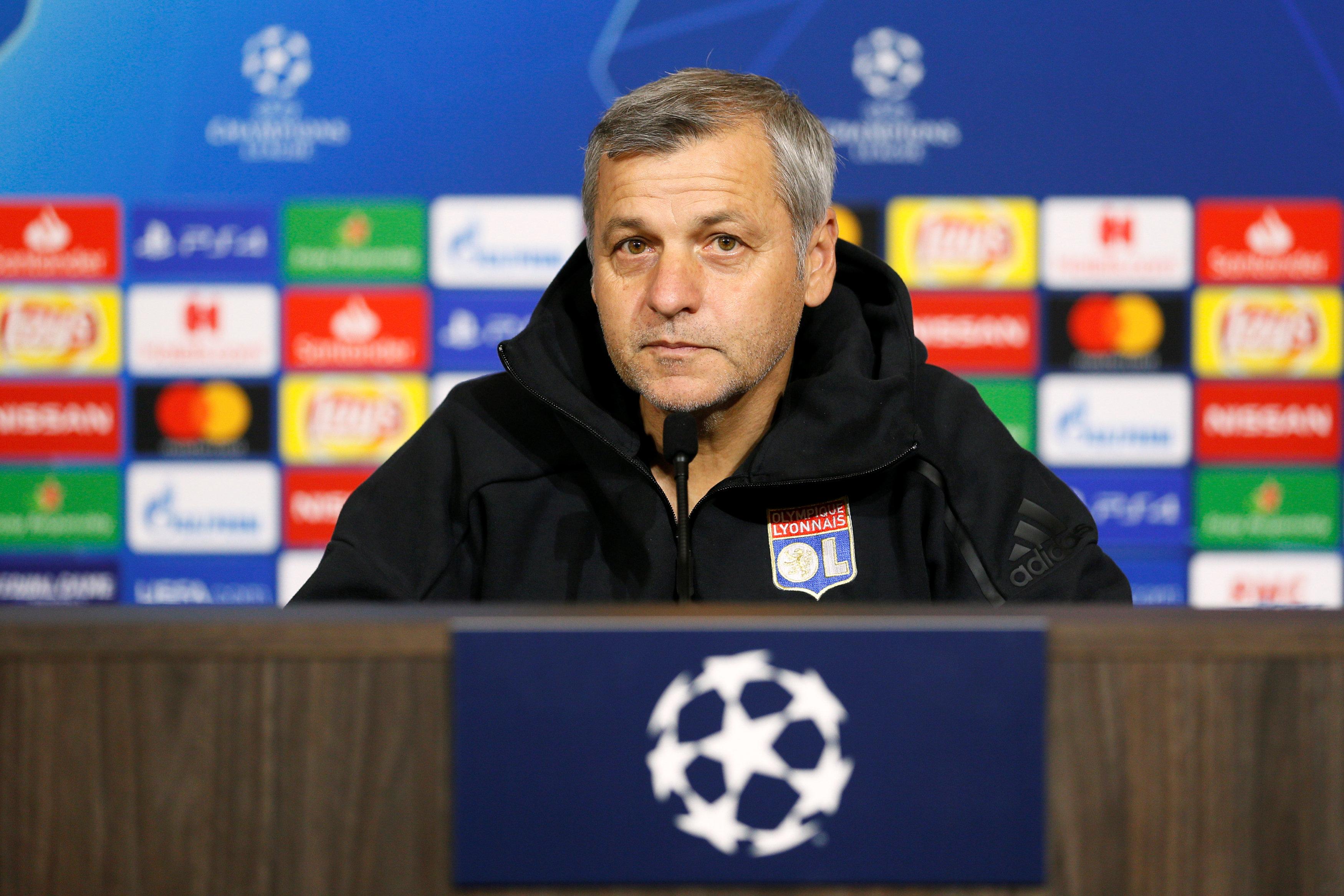 Football - Ligue des champions - Genesio avant Lyon-Manchester City : «On l'a déjà fait, il faut croire en nous»