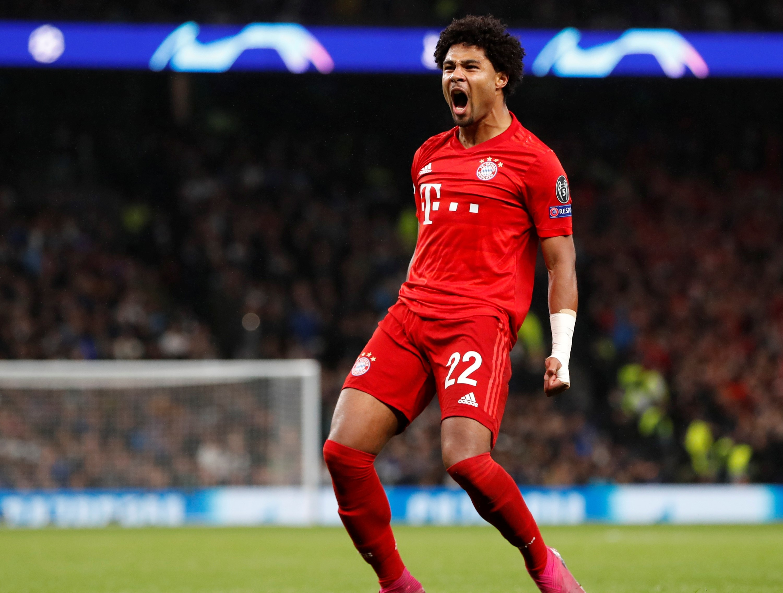 Football - Ligue des champions - Gnabry, le dynamiteur express du Bayern