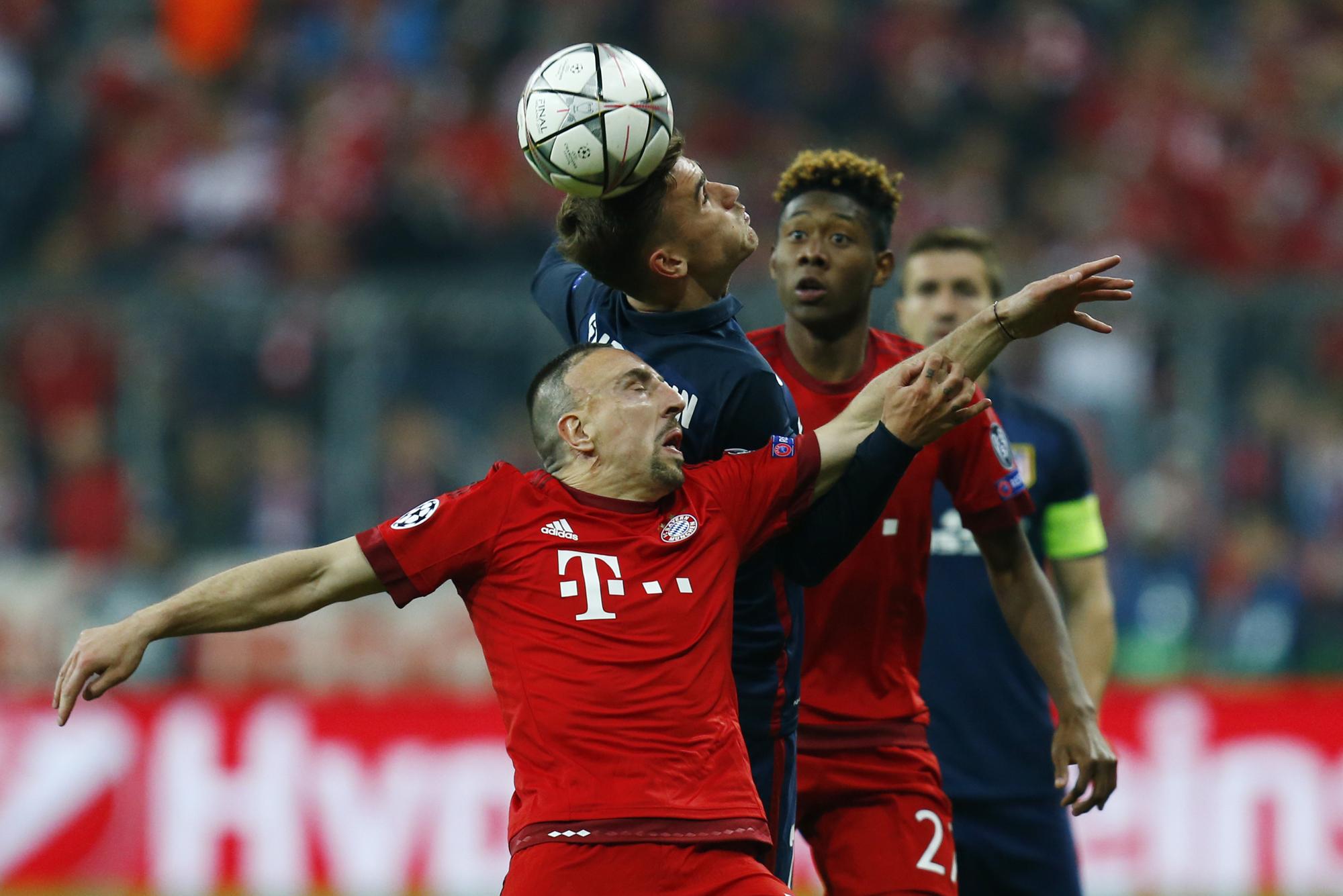 Football - Ligue des champions - Griezmann-Ribery, duel de génération