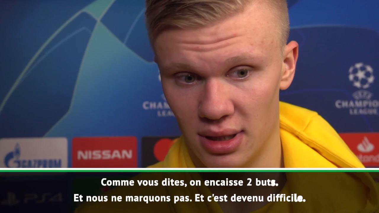 Football - Ligue des champions - Haaland fataliste : «Difficile car les Parisiens sont tellement bons»