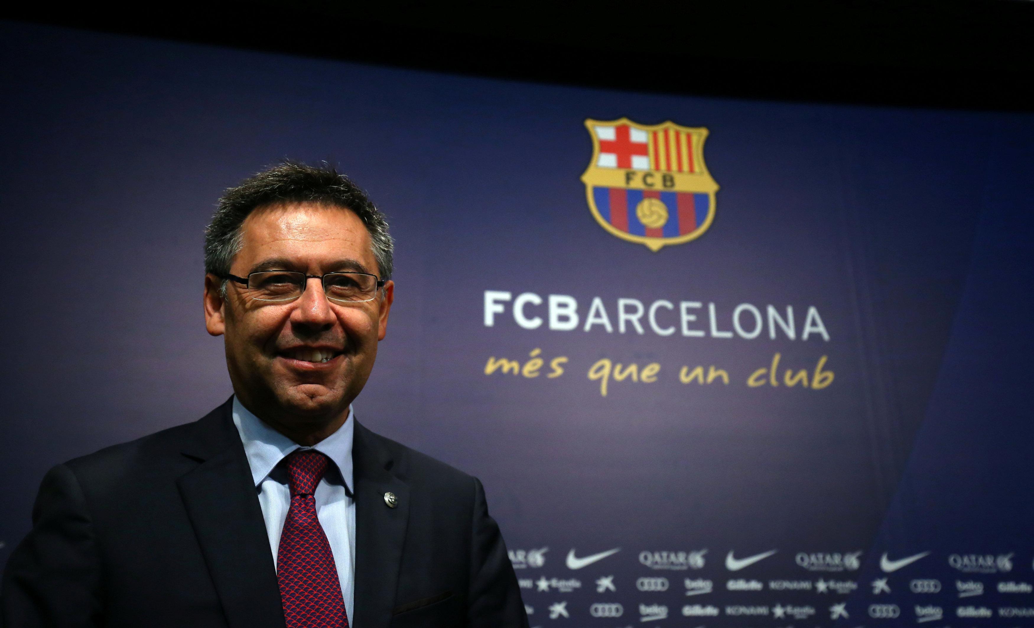 Football - Ligue des champions - Josep Maria Bartomeu au Figaro : «Tout le monde s'attend à ce que le Barça arrive en finale...»