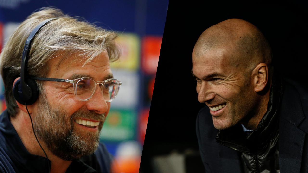 Football - Ligue des champions - Klopp-Zidane, le match des entraîneurs que tout oppose