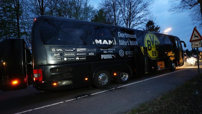 Football - Ligue des champions - L'auteur de l'attentat contre le bus de Dortmund condamné à 14 ans de prison