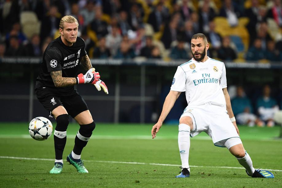 Football - Ligue des champions - L'énorme erreur de Karius qui a offert le but à Benzema
