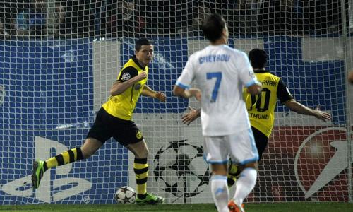 Olympique de Marseille 1-2 BV Borussia Dortmund : L