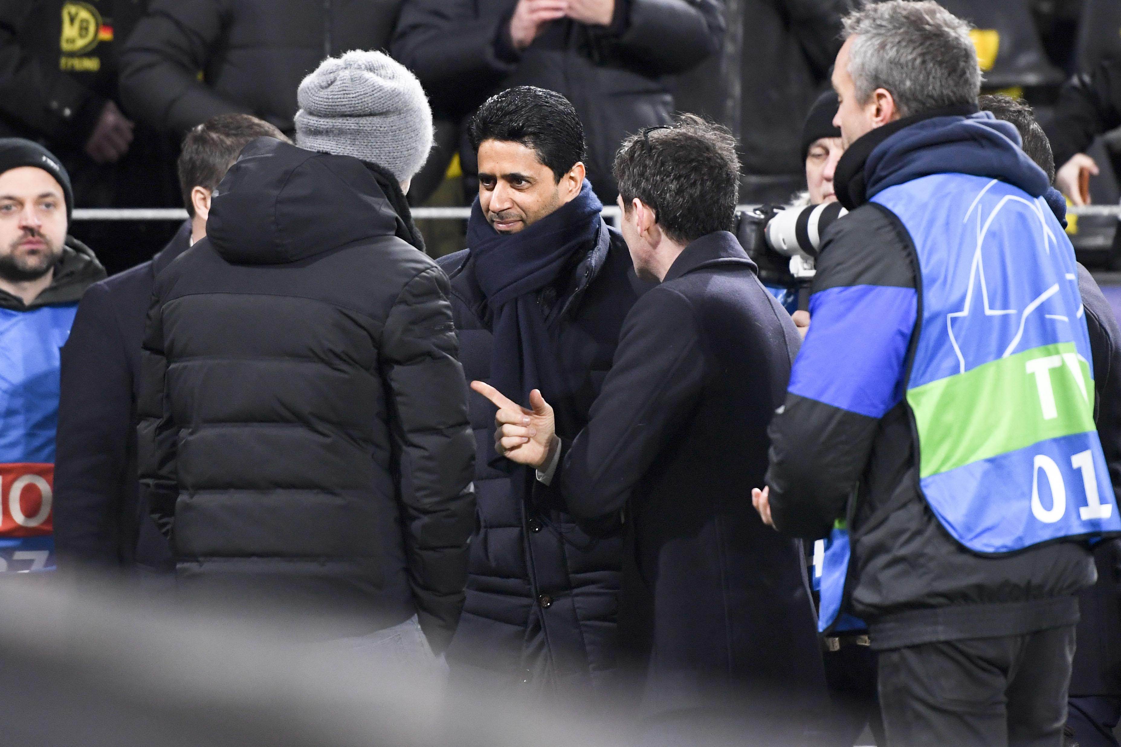 Football - Ligue des champions - La fierté et l'ambition de Nasser Al-Khelaïfi : «On ne veut pas s'arrêter là»