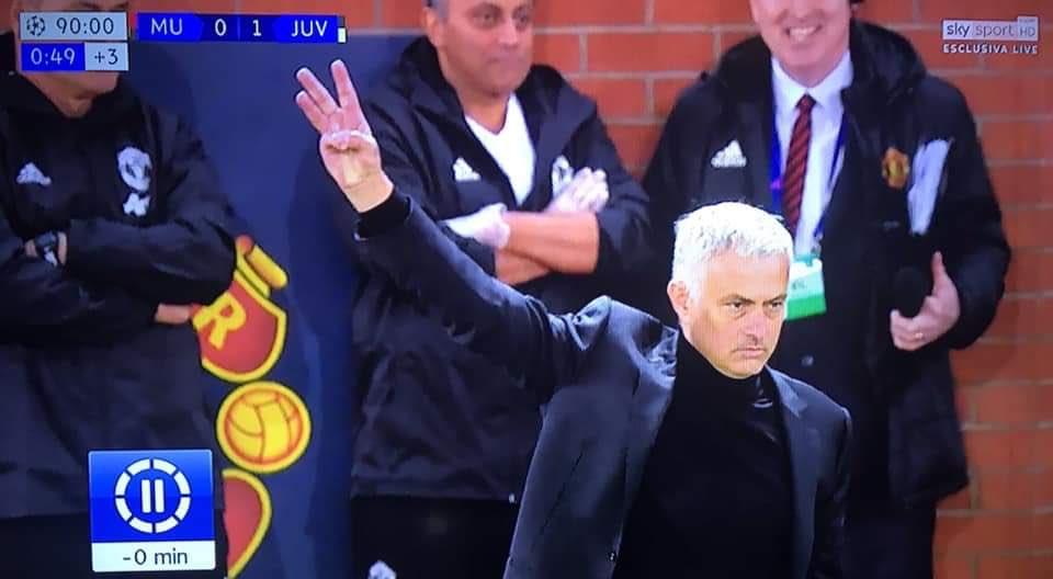 Football - Ligue des champions - La réponse de José Mourinho aux insultes des supporters de la Juve