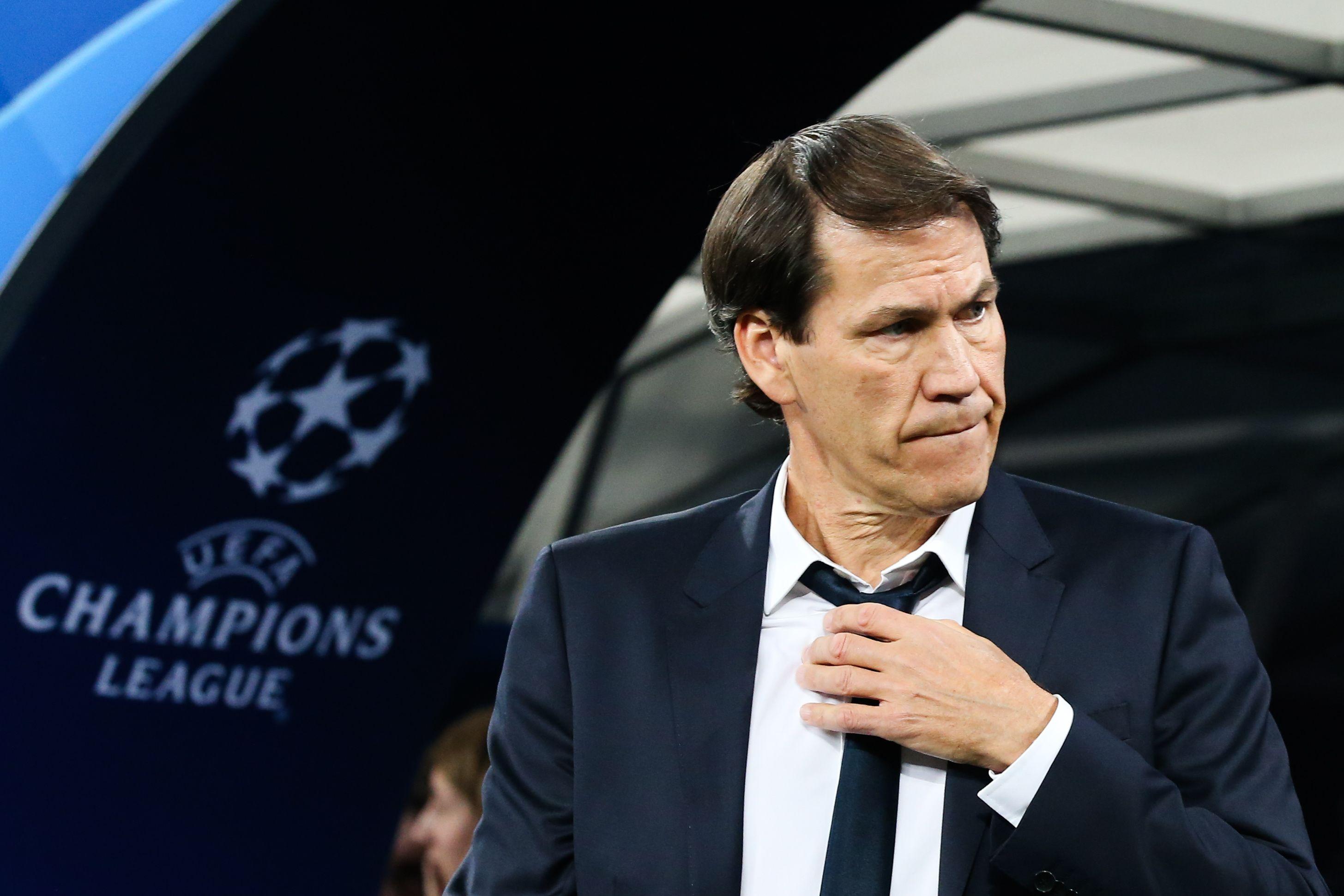 Football - Ligue des champions - La stat peu flatteuse de Rudi Garcia en Ligue des champions